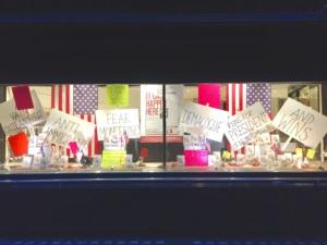 Political Window Display