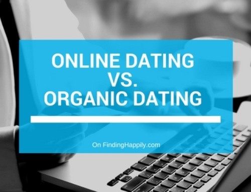 Online Dating Vs. Organic Dating {Infographic}