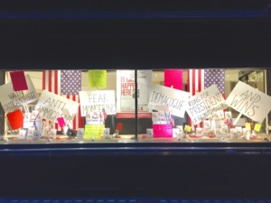 Political Window Display