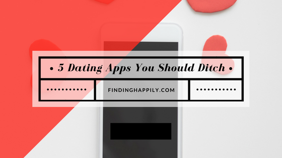 When should you delete dating apps