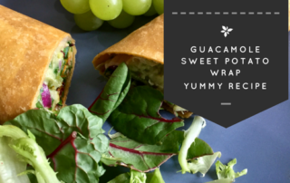 Quick & Easy Guacamole Vegan Wraps