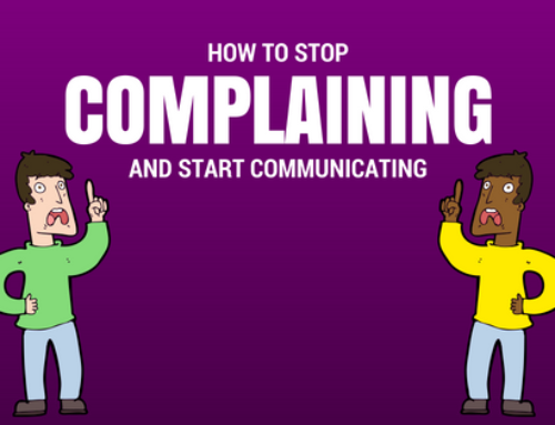 How To Stop Complaining In 3 Easy Steps